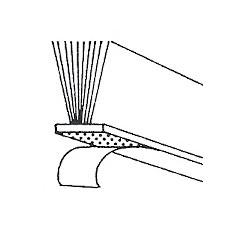 Samolepilna krtačka HM 12mm