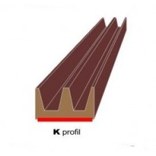 Samolepilni K-profil Den Braven